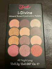 Sleek I-Divine Eyeshadow Palette 12 Shades Highlight - ALL NIGHT LONG Make-Up