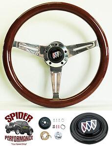 """1969-1993 Buick steering wheel 14 1/2"""" MAHOGANY"""