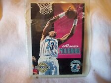 1992 Skybox Alonzo Mourning #332 Rookie Card