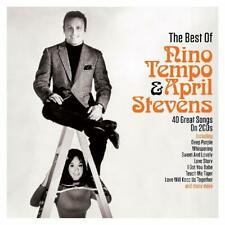 The Best of Nino Tempo and April Stevens 2 CD 40 Great Songs Deep Purple