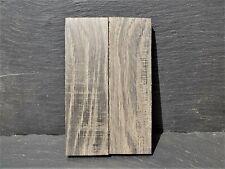 BOG OAK BOOK MATCHED KNIFE SCALES KNIFE MAKING
