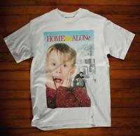 Home Alone T-Shirt Movie Film Retro 90s Christmas Xmas Humbug Secret Santa Tee