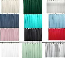 "Shower Curtain Liner: Metal Grommets, Magnets, Standard Size 70"" x 72"""