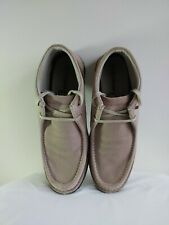 Mens Skechers size 12 suede tie SN 63578  Excellent condition
