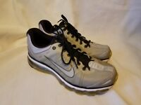 Mens Nike Air Max 2009  Grey Yellow Black Sneakers Shoes 354744-006 Size 10