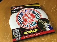new in box ULTIMATE FRISBEE Wham-O 175g White red blue Sports Disc NIB retro USA