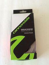 Cannondale SUPERLIGHT MICROFIBER PREMIUM Bike Handlebar Tape,WHITE CSMPT6