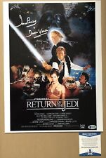Dave Prowse Darth Vadar Signed Star Wars Photo Return Of The Jedi With Beckett