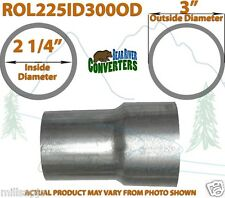 "2 1/4"" 2.25"" ID to 3"" OD Universal Exhaust Pipe to Component Adapter Reducer"