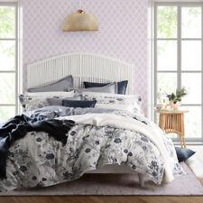 Florence Broadhurst Carnation Denim King Bed Doona Quilt Cover Set RRP279.95