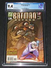 Batman Beyond #13 (2000) CGC 9.4 Animated Batgirl Cover DC Comics Y862