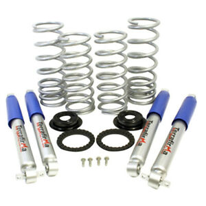 """Air to Coil Spring Medium Load 2"""" Lift Suspension Kit for Land Rover Discovery 2"""