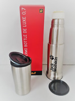 Jack Wolfskin Thermo Bottle 0.7L Stainless Steel Thermal Tea Drink Vacuum Flask