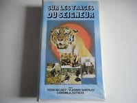 K7 VHS / CASSETTE VIDEO - SUR LES TRACES DU SEIGNEUR