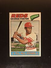 1977 Topps George Foster #347