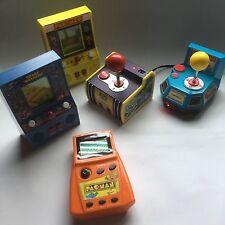 RETRO LOT JAKKS Ms. Pac-Man Pac-Man Mini Arcade Game Handheld Plug Play TV