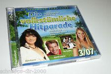 DIE VOLKSTÜMLICHE HITPARADE 3/07  2 CD'S MIT CALIMEROS OLIVER THOMAS MAXI ARLAND