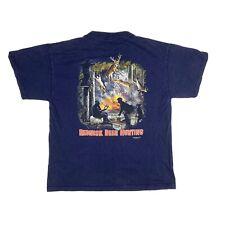 Vintage 2004 Redneck Sportsman Funny Deer Hunting T Shirt Mens Sz Medium Y2K