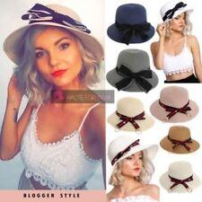 Gorras y sombreros de mujer de paja