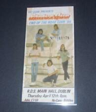 Status Quo Concert Ticket Stubb R.D.S Dublin 1984 Laminated Reproduction