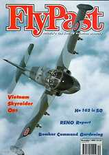 Flypast 1994 December Shackleton,Lancaster,Bolingbroke,Reno,Skyraider,He162