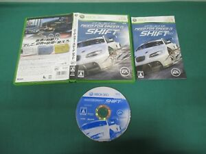 Xbox360 -- NEED FOR SPEED SHIFT -- JAPAN. GAME.. Work. 54288