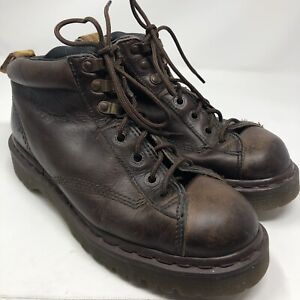 Vtg Doc Dr Martens 8287 Air Wair Leather Ankle Boots size 7 Made in England