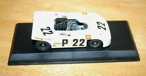 1/43 PORSCHE 908/3 WINNER NURBURGRING 1970 WHITE #22 ELFORD AHRENS Best Model