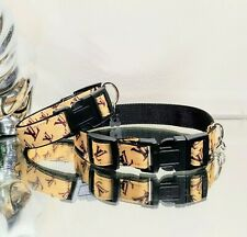 New listing LaGucci Micro'S Fashion Dog Tan Mono Collar Xs-S Neck 7.0 -9.5in. Ret.$22 ���