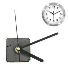 Silent DIY Clock Quartz Movement Mechanism Hands Replacement Black Part Red T8S7