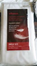 Wilkinson Single 100% Soft Cotton Valance Fitted Sheet  - MIB