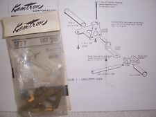 1/24 VINTAGE KEMTRON BRASS SLOT CAR CHASSIS KIT #1777 FOR RAM 422/DC-706 MOTORS