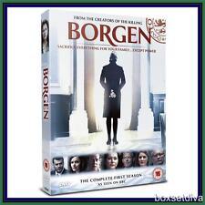 BORGEN - COMPLETE SERIES 1  **BRAND NEW DVD ***