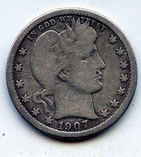 1907-o Barber quarter (SEE PROMO)