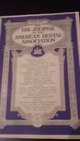 The Journal Of The American Dental Asociación VOL.20 1933 Febrero Retrato ABE