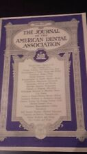 THE JOURNAL OF THE AMERICAN DENTAL ASSOCIATION VOL.20 1933 FEBRUARY PORTRAIT ABE