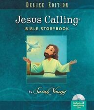 JESUS CALLING Bible Storybook Deluxe Edition with 3 Read-Along CDs ~ NEW, SEALED