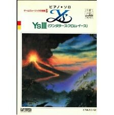 Ys III Wanderers from Ys Piano Solo sheet music book
