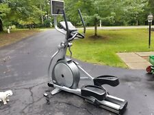 Matrix Elliptical E5XC Self Powered Commercial with Matrix Fitness Entertainment