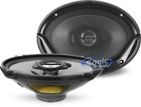 "KENWOOD 400W 6"" x 9"" 3-Way Sport Series Coaxial Car Stereo Speakers 