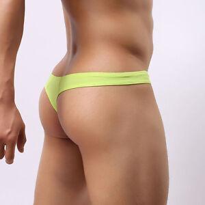 USA Seller Men Thongs bikini underwear G-string Jockstrap Swimwear BRAVE PERSON
