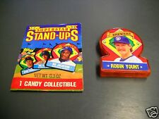 1991 Topps Stand Ups TEST ISSUE - ROBIN YOUNT- Brewers HOF - Odd Ball Item