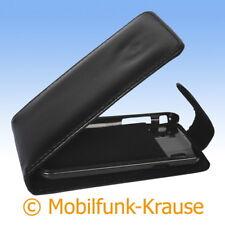 Flip Case Etui Handytasche Tasche Hülle f. Samsung GT-I9000 / I9000  (Schwarz)