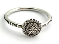 Authentic Pandora Radiant Elegance Sterling Silver Ring, 190986-60 Sz 9 New