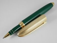 Louis Vuitton Doc Laque Green Lacquer and Gold Plated Rollerball Pen (Excellent)