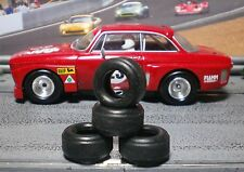 1/32 URETHANE SLOT CAR TIRES 2pr PGT-21105FF fit CB Design 14x8 Classic Steel