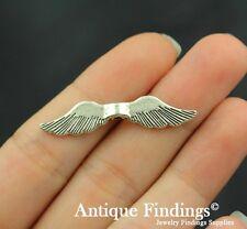 14pcs Angel Wing Charm Antique Tibetan Silver Charm Pendant SC208