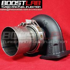 "Borg Warner S200SX S300SX3 Down Pipe V-Band Kit **4"" MILD STEEL**"