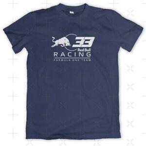 T-Shirt Red Bull F1 Racing #33 🇳🇱Max Motorsport Tee Choose Color Navy/Orange