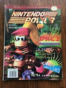 Nintendo Power Magazine Volume 79 December 1995 Diddy's Dong Quest